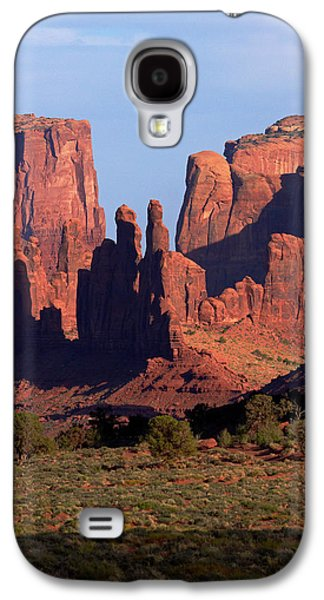 Navajo Nation, Monument Valley, Yei Bi Galaxy S4 Case by David Wall