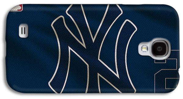 New York Yankees Derek Jeter Galaxy S4 Case by Joe Hamilton