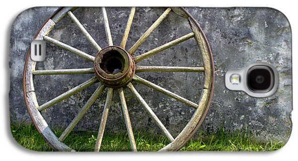 Antique Wagon Wheel Galaxy S4 Case
