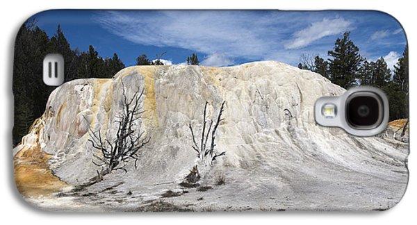 Orange Spring Mound Mammoth Hot Springs Yellowstone National Park Galaxy S4 Case