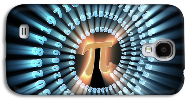 Pi Symbol And Number Galaxy S4 Case by Alfred Pasieka