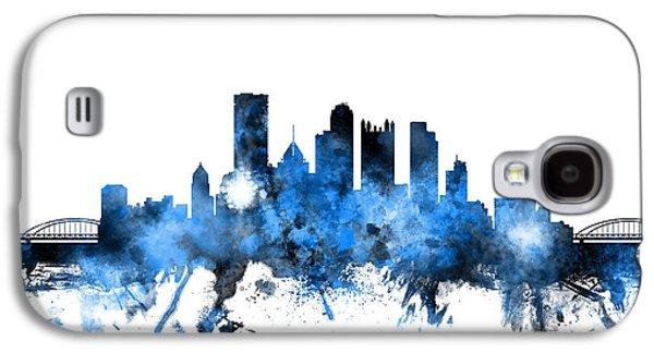 Pittsburgh Pennsylvania Skyline Galaxy S4 Case by Michael Tompsett