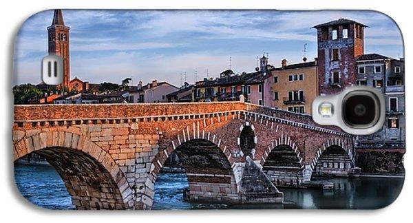 Ponte Pietra Verona Galaxy S4 Case by Carol Japp
