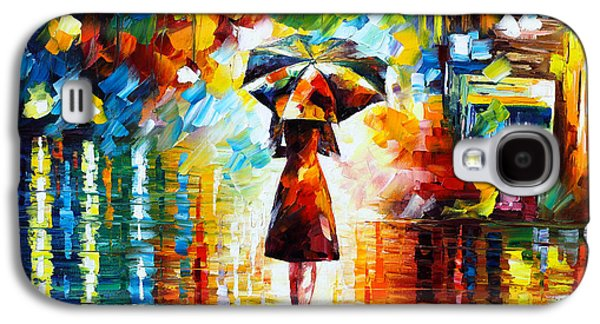 Rain Princess Galaxy S4 Case by Leonid Afremov