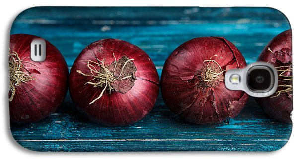 Red Onions Galaxy S4 Case by Nailia Schwarz
