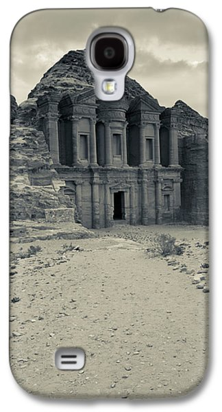 Ruins Of Ad Deir Monastery At Ancient Galaxy S4 Case