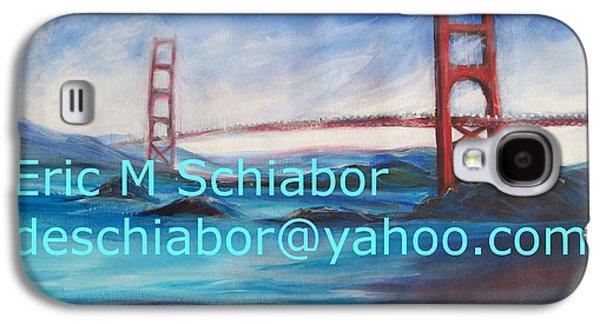 San Francisco Golden Gate Bridge Galaxy S4 Case by Eric  Schiabor