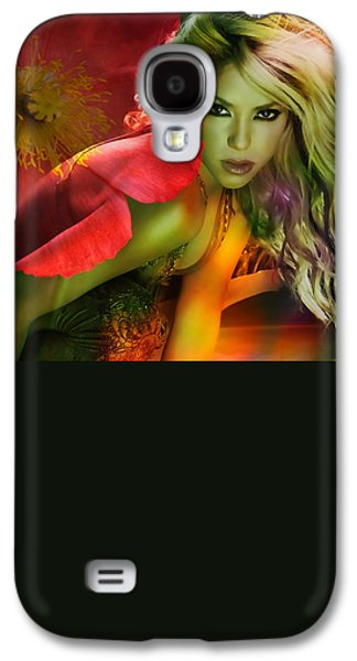 Shakira Galaxy S4 Case by Marvin Blaine