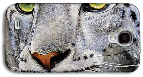Snow Leopard Galaxy S4 Case by Jurek Zamoyski