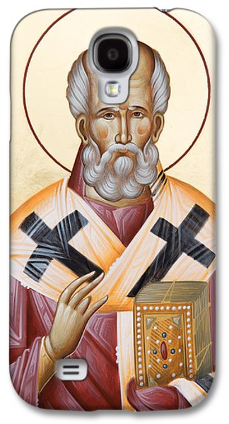 St Nicholas Of Myra Galaxy S4 Case by Julia Bridget Hayes