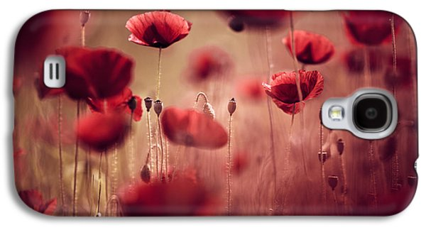 Summer Poppy Galaxy S4 Case