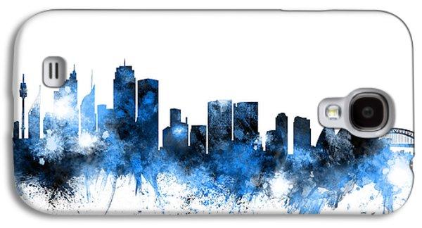 Sydney Australia Skyline Galaxy S4 Case