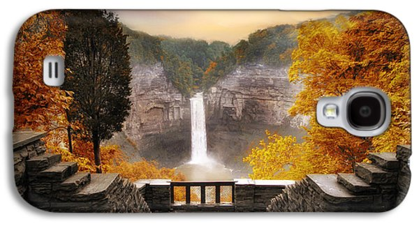 Taughannock Falls Galaxy S4 Case by Jessica Jenney