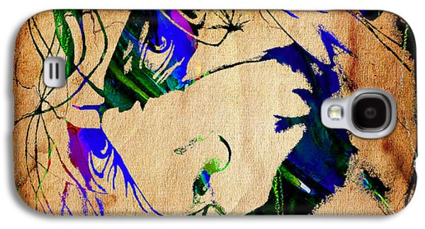 The Joker Heath Ledger Collection Galaxy S4 Case by Marvin Blaine