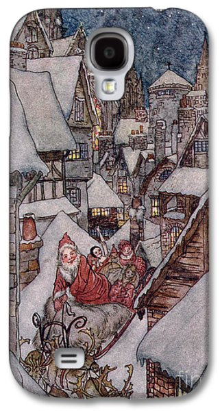'the Night Before Christmas Galaxy S4 Case by Arthur Rackham