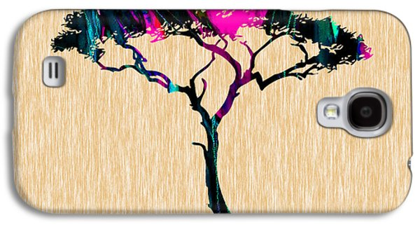 Tree Wall Art Galaxy S4 Case by Marvin Blaine