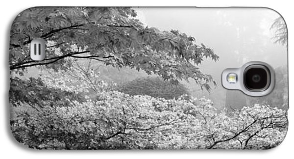 Trees In A Garden, Butchart Gardens Galaxy S4 Case by Panoramic Images