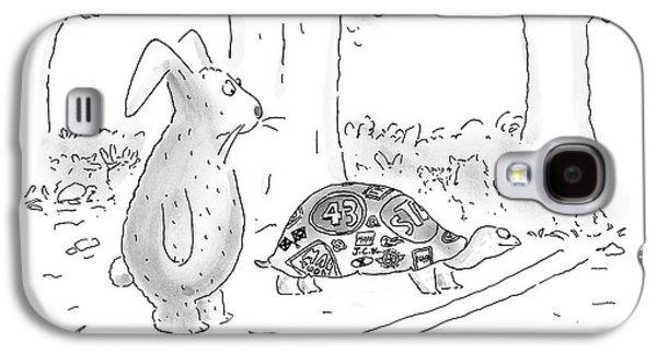 New Yorker August 21st, 2000 Galaxy S4 Case by Arnie Levin