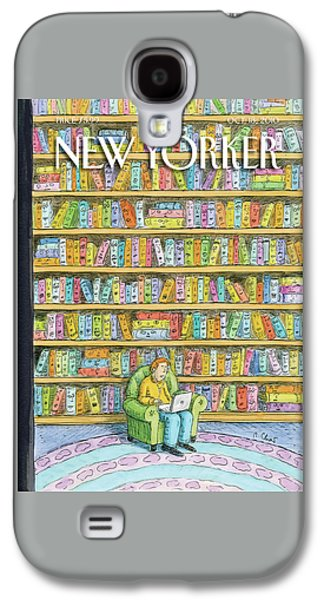 New Yorker October 18th, 2010 Galaxy S4 Case