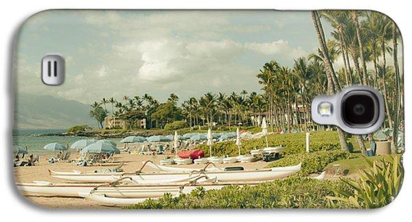 Wailea Beach Maui Hawaii Galaxy S4 Case