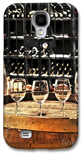 Wine Glasses And Barrels Galaxy S4 Case