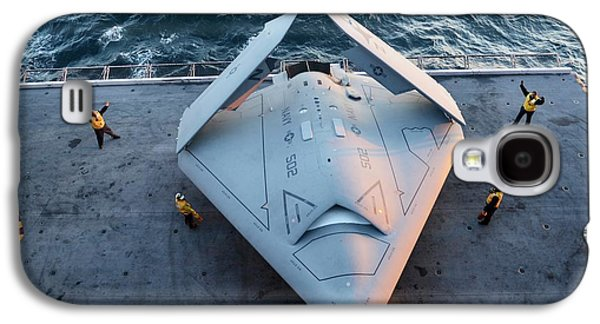 X-47b Unmanned Combat Air Vehicle Galaxy S4 Case by Us Air Force
