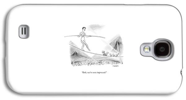Ooh, We're Sooo Impressed Galaxy S4 Case by Pat Byrnes