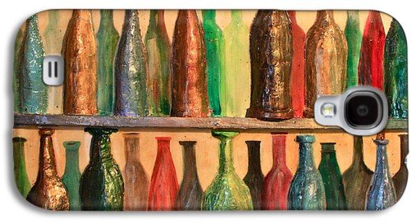 31 Bottles Galaxy S4 Case by Mark Prescott Crannell