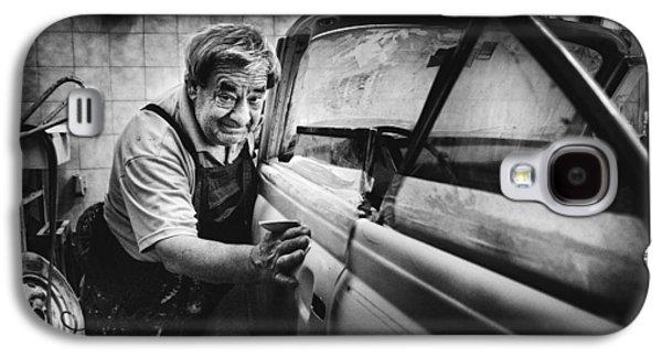 Truck Galaxy S4 Case - Untitled by Antonio Grambone