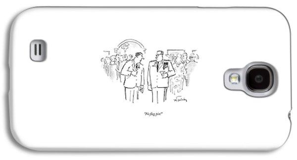 No Flag Pin! Galaxy S4 Case