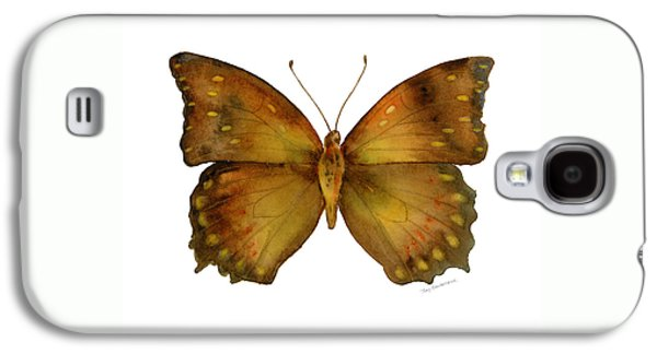 34 Charaxes Butterfly Galaxy S4 Case by Amy Kirkpatrick