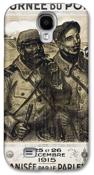 World War I French Poster Galaxy S4 Case by Granger
