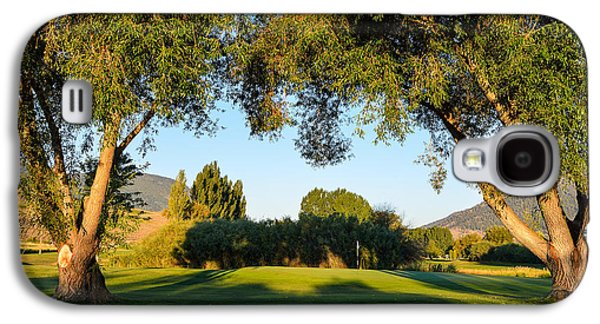 3rd Green At Quilchena  Galaxy S4 Case by Randy Giesbrecht