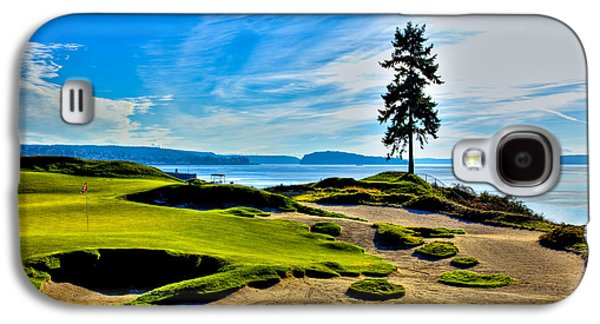 #15 At Chambers Bay Golf Course - Location Of The 2015 U.s. Open Tournament Galaxy S4 Case by David Patterson