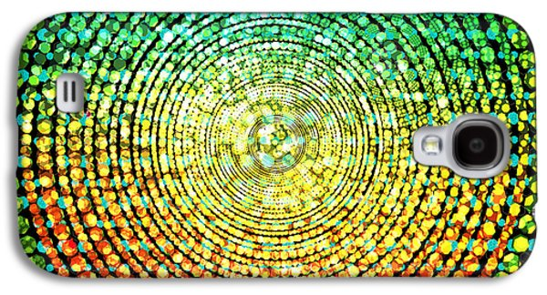 Abstract Dot Galaxy S4 Case by Atiketta Sangasaeng