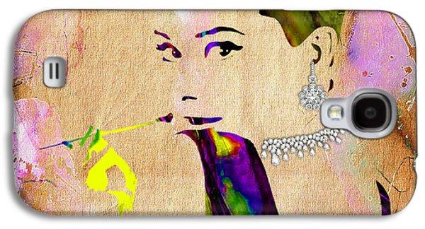 Audrey Hepburn Diamond Collection Galaxy S4 Case