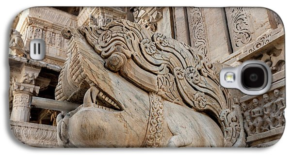 Bas Relief Jagdish Temple Udaipur Galaxy S4 Case by Tom Norring