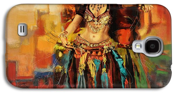 Belly Dancer 9 Galaxy S4 Case by Corporate Art Task Force