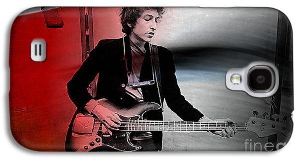 Bob Dylan Galaxy S4 Case by Marvin Blaine