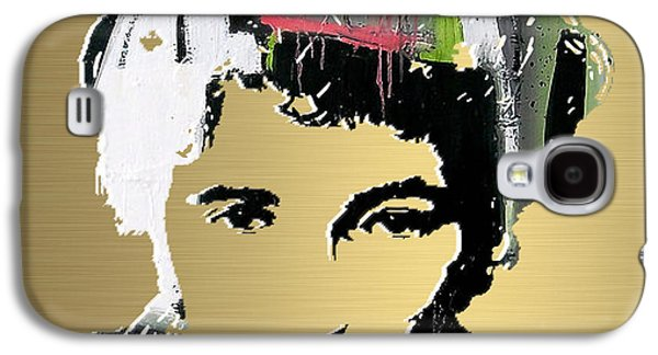 Bruce Springsteen Gold Series Galaxy S4 Case by Marvin Blaine
