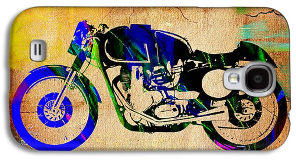 Cafe Racer Galaxy S4 Case by Marvin Blaine