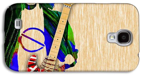Eddie Van Halen Special Edition Galaxy S4 Case by Marvin Blaine