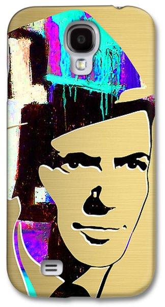 Frank Sinatra Art Galaxy S4 Case
