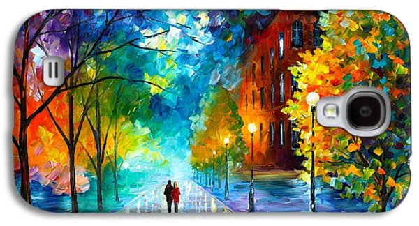 Freshness Of Cold Galaxy S4 Case by Leonid Afremov