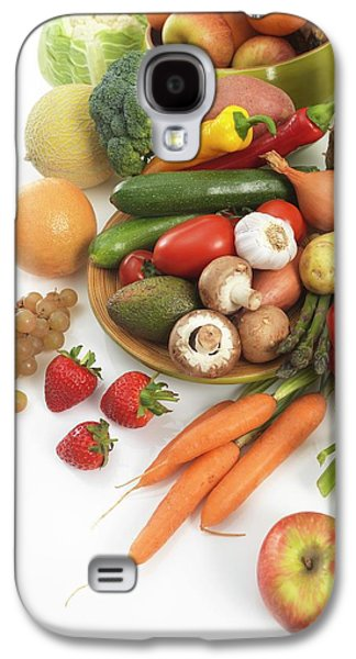 Fruit And Vegetables Galaxy S4 Case by Tek Image