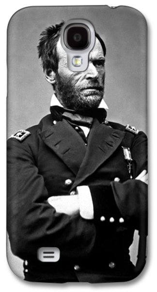 General William Tecumseh Sherman Galaxy S4 Case by War Is Hell Store