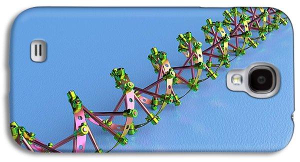 Genetic Engineering Galaxy S4 Case by David Parker