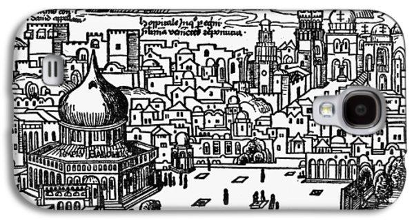 Holy Land Jerusalem Galaxy S4 Case by Granger