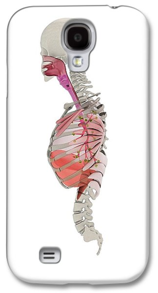 Human Respiratory System Galaxy S4 Case