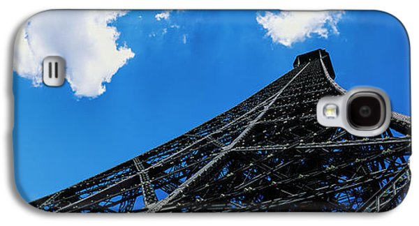 Low Angle View Of A Tower, Eiffel Galaxy S4 Case by Panoramic Images